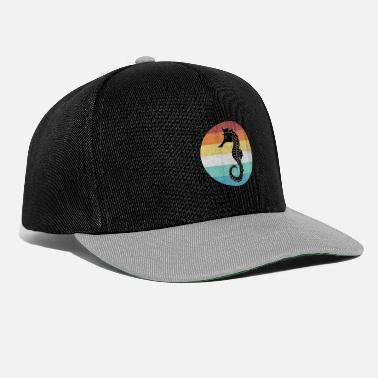 Marine Animal sea horse - Snapback Cap