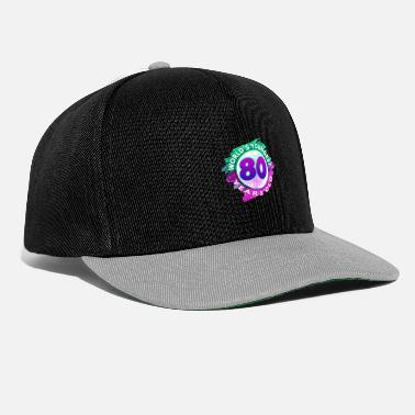 80 ° Compleanno 80 ° compleanno - Snapback Cap
