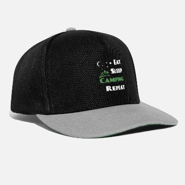 Camping Camping camping - Casquette snapback