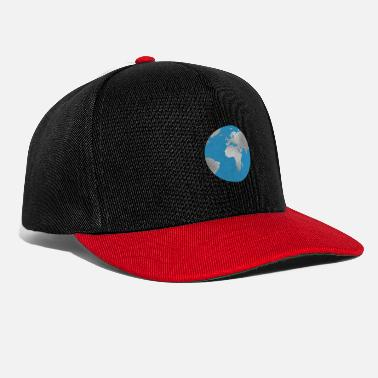 Silver Back World earth silver - Snapback Cap