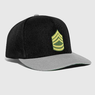 Navn Militær Uniform US Army Sergeant First Class - Snapback-caps