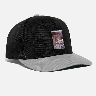 Motif villagedes Alpes deconfinement - Casquette snapback