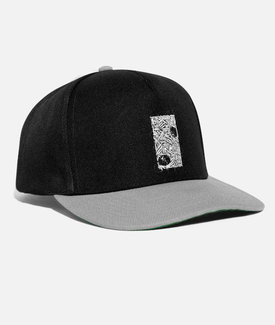 Artist Caps & Hats - The Art of Calligraphy / Arabic Flow - Snapback Cap black/grey