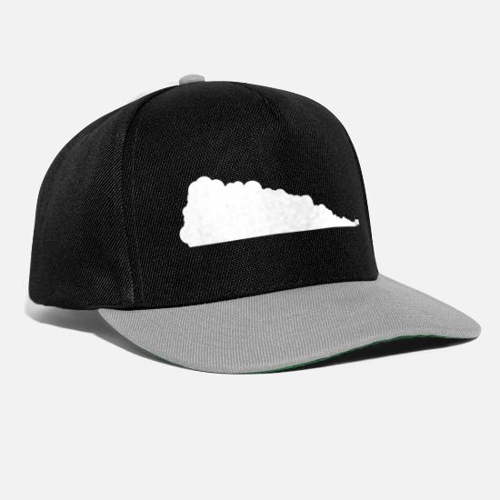 Drift Caps & Hats - Drifting Across - Snapback Cap black/grey