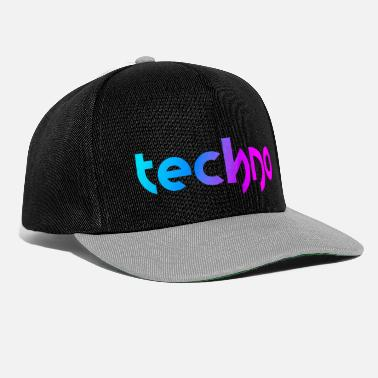 Party Techno (Neon Style) - Snapback Cap