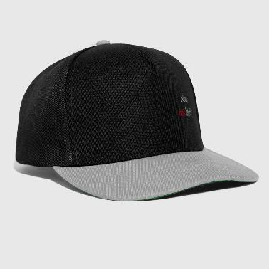 Now, not later - Snapback Cap