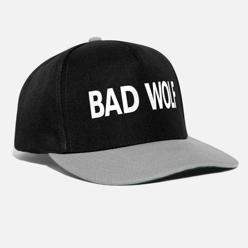 Timelord Caps & Hats - Bad Wolf - Snapback Cap black/grey