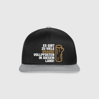 There Are Too Many Brown Vollpfosten! (2015) - Snapback Cap