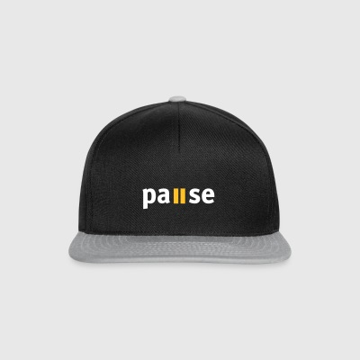 Pause - Snapback-caps