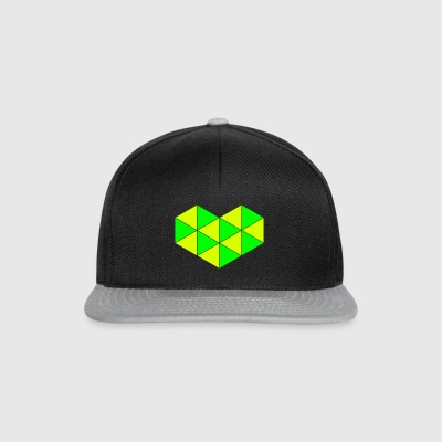 Triangle heart - Snapback Cap