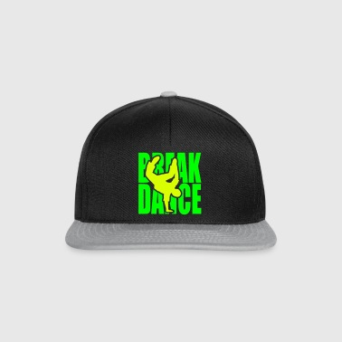 Breakdance danza break música silueta Clipart - Gorra Snapback