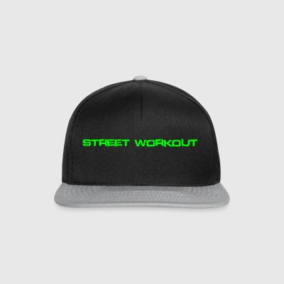 Street Workout green - Snapback Cap