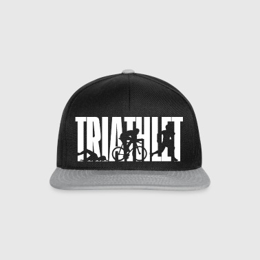 Triathlet - White - Snapback Cap