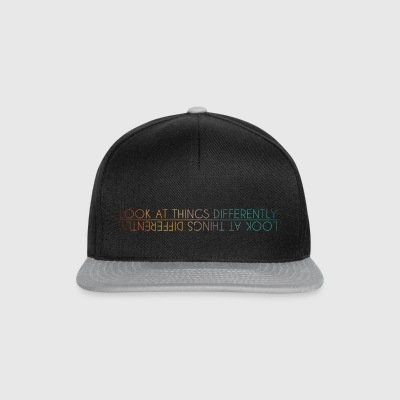 Look at things differently - Snapback Cap