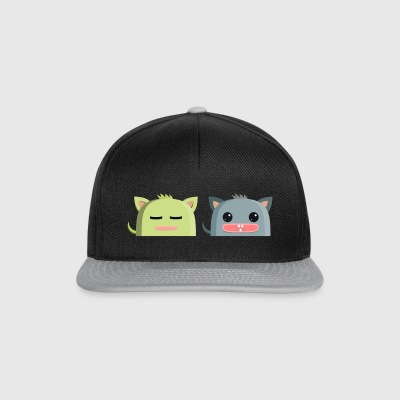 nuttet monster - Snapback Cap