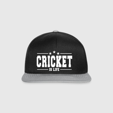 cricket is life 1 - Casquette snapback