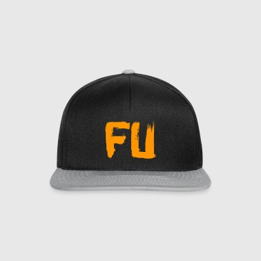 orange, FU - Casquette snapback