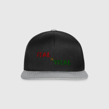 ital is vital - Snapback cap