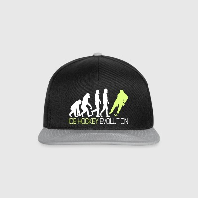 Evolution - Ice Hockey T-Shirt Geschenk - Snapback Cap