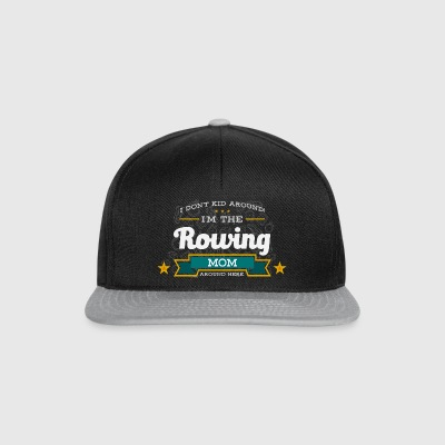 Row Mom Mom Shirt Gift Idea - Snapback Cap