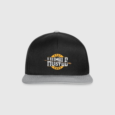 Humble Stay Hustle Hard - Déclaration Motivation Travail - Casquette snapback