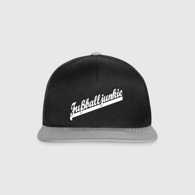 Football junkie - football - Snapback Cap