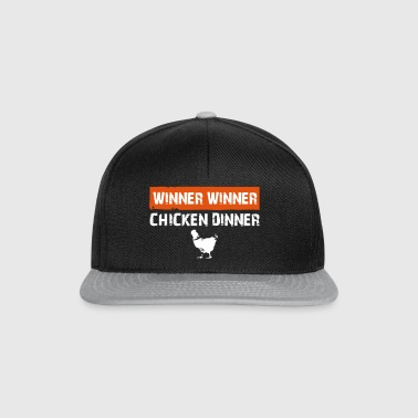 chicken dinner - Snapback Cap