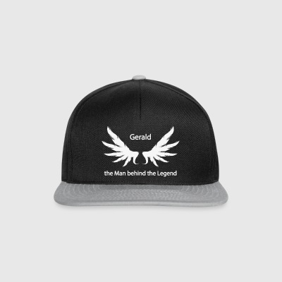 Gerald the Man behind the Legend - Snapback Cap