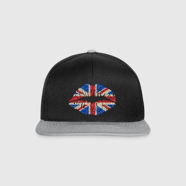 Sexy lips Great Britain England Union Jack - Snapback Cap