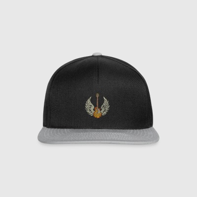 Guitar with Wings - Snapback Cap
