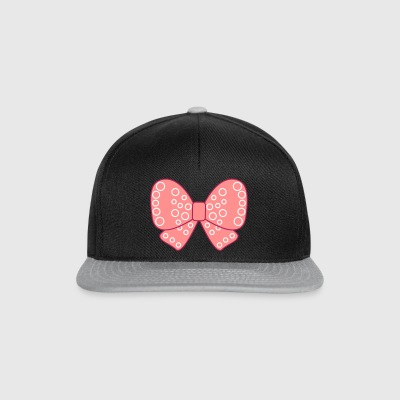 Girly knot very pink girl - Snapback Cap