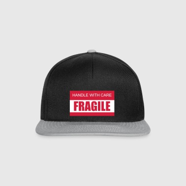 FRAGILE Handle with care 2c - Snapback Cap