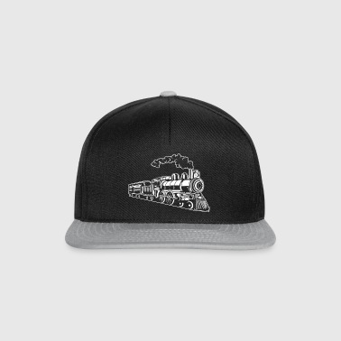 Locomotive / Locomotive 02_white - Snapback Cap