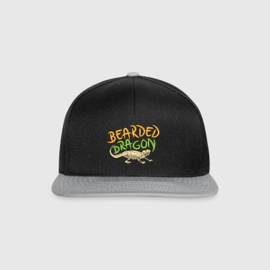 Bearded Dragon shirt - Snapback cap