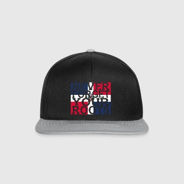 never forget roots home Dominican Republic - Snapback Cap