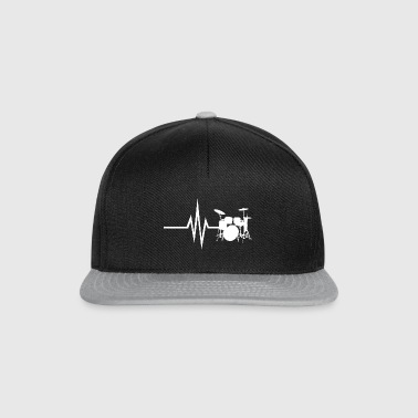 My heart beats for drums - Snapback Cap