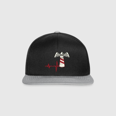 Gift Heartbeat Lighthouse - Snapback Cap