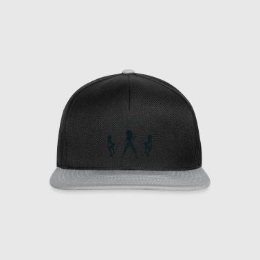 Squat party blå - Snapback Cap