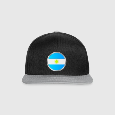 flag of argentina - Snapback Cap
