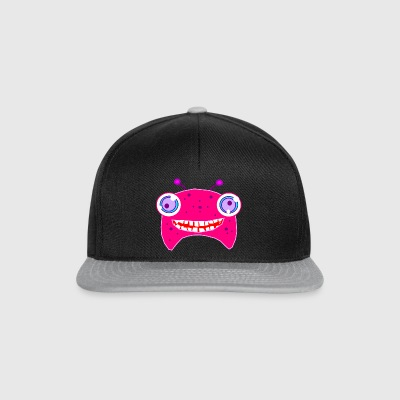 Crazy monster - Snapback Cap