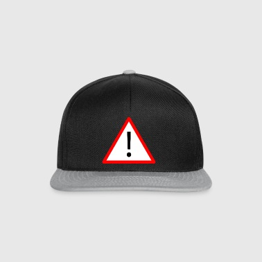 Attention! - Snapback Cap