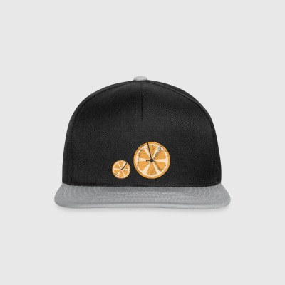 Fruits / fruits: Orange - orange Vélo - Casquette snapback