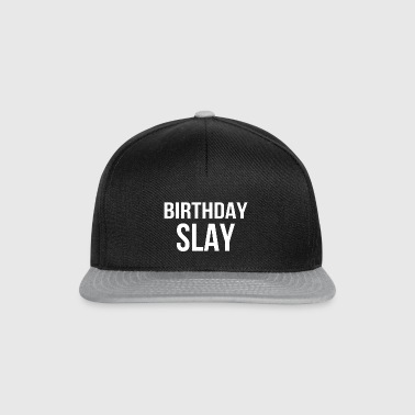 Birthday party hangover gift - Snapback Cap