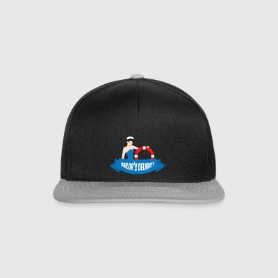 Pin-up / Rockabilly / 50: Delight Sailor! - Casquette snapback