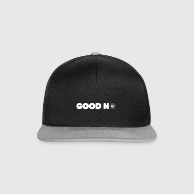 GOOD N8 Billiard Pool Design - Snapback Cap