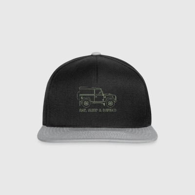 Eat Sleep Forsvar - Snapback-caps