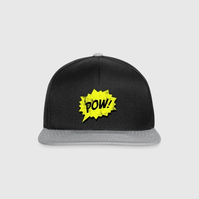Pop Art / Comedy: Pow! - Speech bubble - Snapback Cap