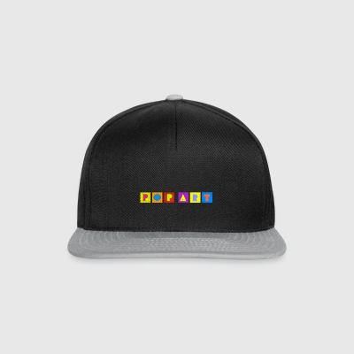 POP ART - Casquette snapback