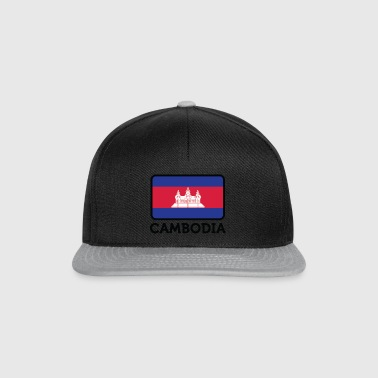 National Flag Of Cambodia - Snapbackkeps
