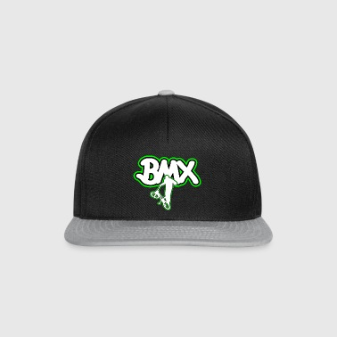 BMX bicycle logo gift - Snapback Cap